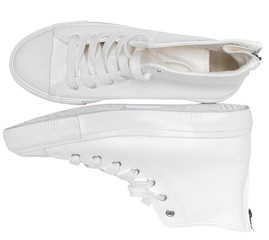 sneakers on a white background
