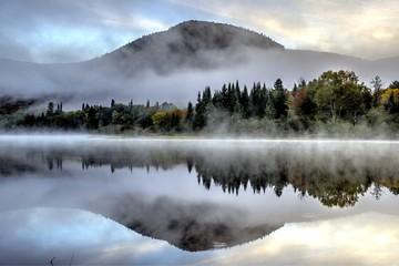 Paysage des Laurentides au Canada