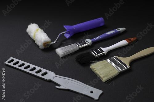 outils de peinture imagens e fotos de stock royalty free no imagem 144437641. Black Bedroom Furniture Sets. Home Design Ideas