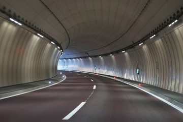 Papiers peints Tunnel Autobahn Tunnel