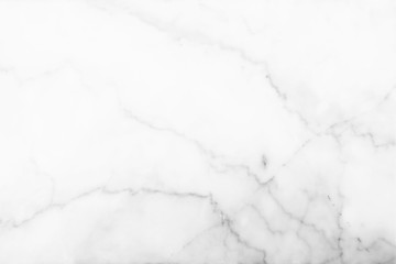 White Marble Wall Background.