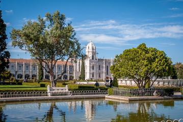 Parc et monastère des Hiéronymites de Lisbonne