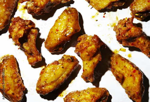 chicken wings with citrus glaze stockfotos und lizenzfreie bilder auf bild. Black Bedroom Furniture Sets. Home Design Ideas