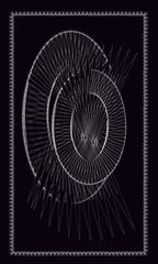 Tarot cards - back design, Spirit