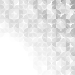 Abstract gray modern geometric background