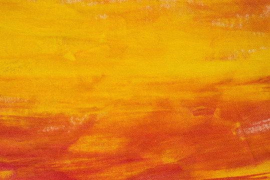 orange painted background texture