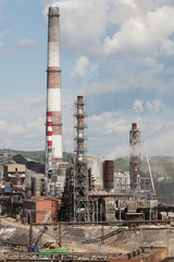 Karabash City-area environmental disaster in the Chelyabinsk region.