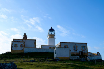 Neist Point Lighthouse on the Westerly Point of Skye