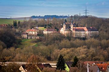Ein Kloster auf der Burg