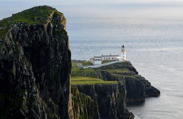 Amazing Rugged Sea Cliffs at Neist Point In Scotland