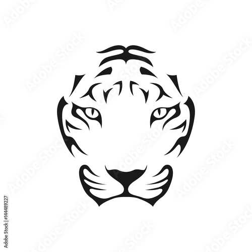 """Tiger Head Abstr..."