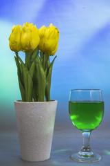 Green melon drinkdrink