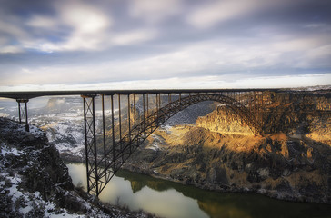 Garden Poster Bridges Perrine Bridge