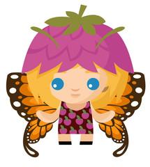 happy cute fairy