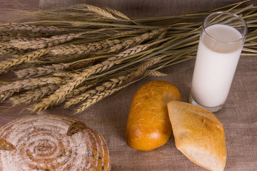 Countryside - bread with milk