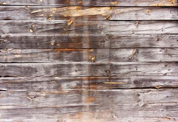 Horizontal, wooden, old, worn, burnt boards.