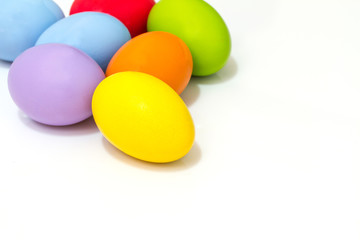 Multi color Easter egg