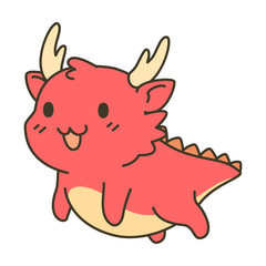 Cute Dragon zodiac cartoon
