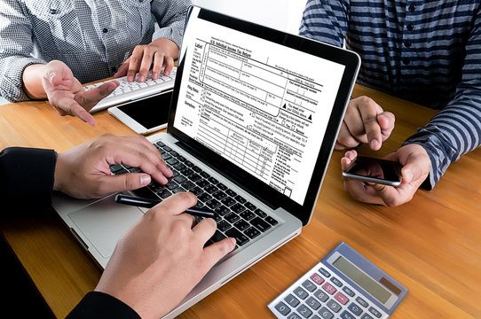 Time for Taxes Planning Money Financial Accounting Taxation Businessman Tax Economy Refund Money