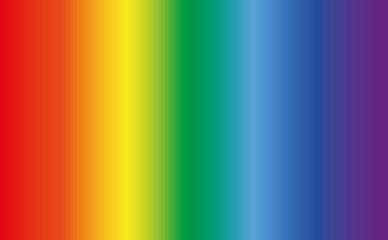 Фоновый рисунок в виде радуги с плавным переходом цветов. Векторная иллюстрация.
