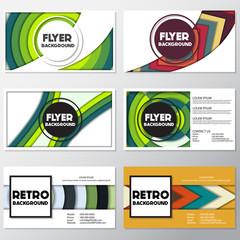 fresh fashion background flyer style background Design Template