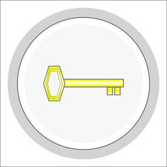Vector design elements. Button.