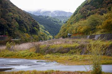 Japan countryside in Kameoka