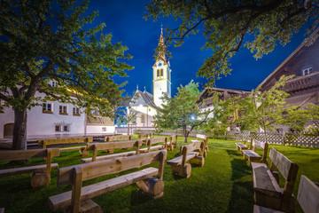 Igls village near Innsbruck, Austria