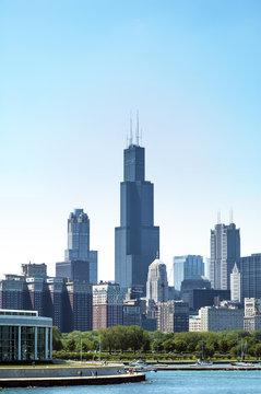 Chicago loop buildings