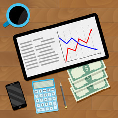Economic document market