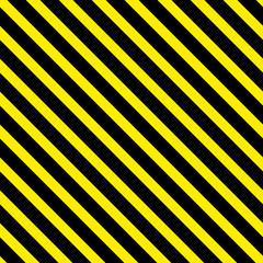 Background with a slanted, diagonal stripes, lines. Yellow and black color. Vector illustration. Geometric background print on paper,fabric, gift wrap, packaging, bedding,  lining, apparel