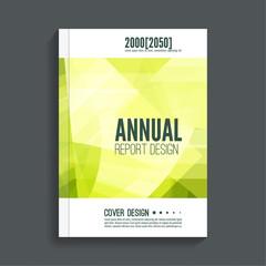 Green Cover for journal, magazine. Leaflet Flyer template A4 size design. Layout for book, brochure, flyer, poster, booklet, leaflet, postcard, flier headline annual report vector