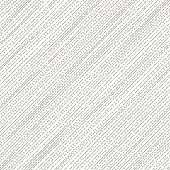 Vector illustration of monochrome seamless pattern. Diagonal lines texture. Simple design. Abstract background. Black and white illustration. Minimalistic style.