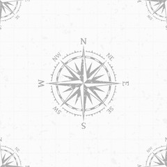 Wind rose vector background.