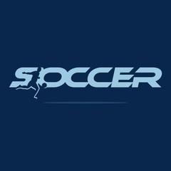 soccer logo vector.