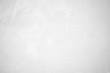 Blank grunge white cement wall texture background