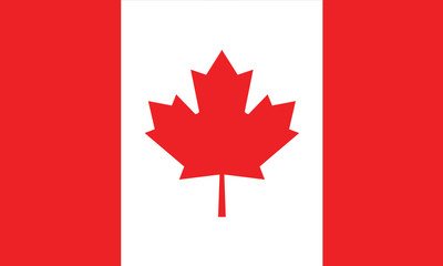 vector of canada flag