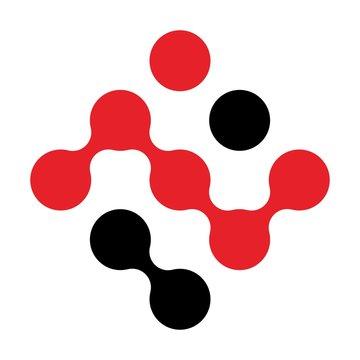 link circle logo vector.