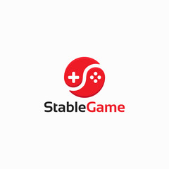 Stable Game logo designs template