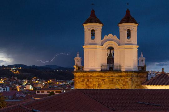Lightning over Sucre