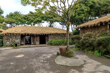 Folk Village in Jeju island, South Korea