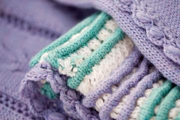 Beautiful knitted fabric