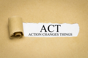 ACT (Action Changes Things)