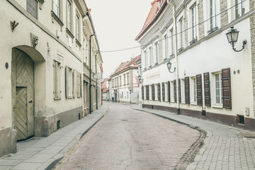 Old town Vilnius, Lithuania