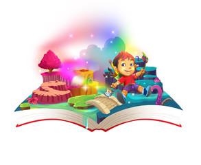 popup book illustration