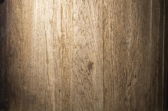 Wooden Barrel Closeup