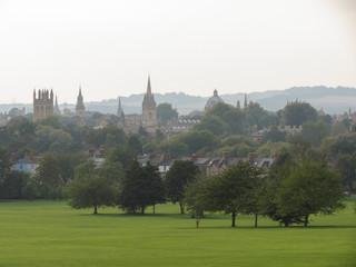 Oxford skyline from South Park