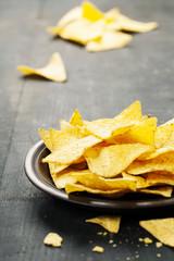 Nachos corn chips
