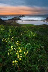 Sutro Baths Sunset, San Francisco California