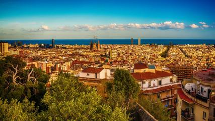 Barcelona, Catalonia, Spain: mosaic in thePark Guell of Antoni Gaudi
